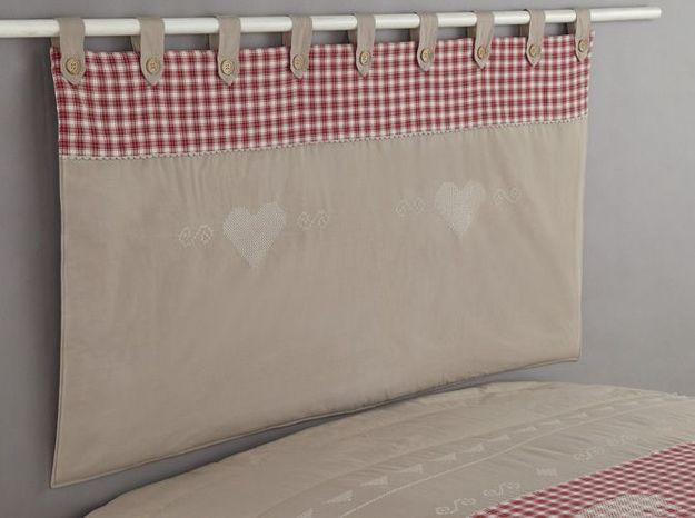 Tete de lit chalet la redou