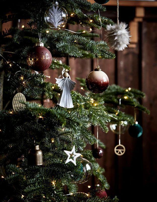 Décoration sapin : comment décorer votre arbre de Noël ? - Elle on