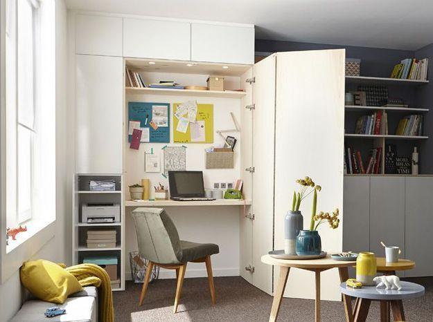 10 idées pour s'aménager un coin bureau