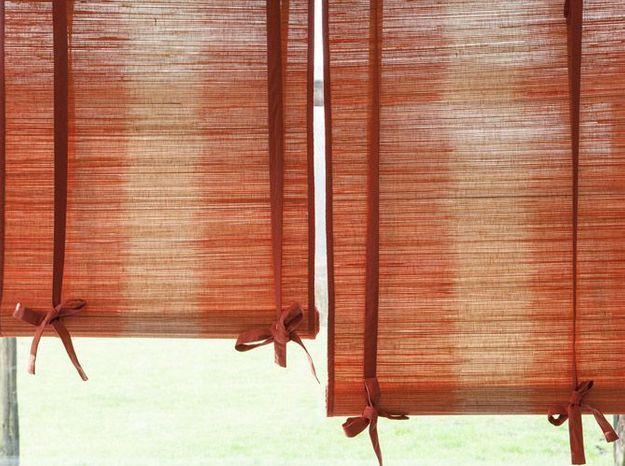 Stores en bambou