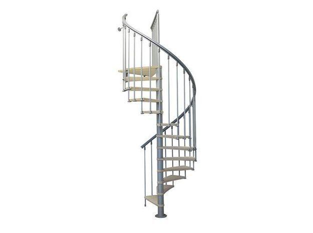 Un escalier en colimaçon sur mesure