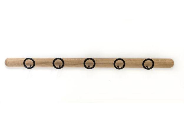 Mini patère en bois pour petite entrée
