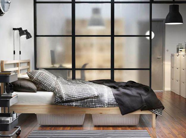 Une verrière opaque pour une chambre lumineuse