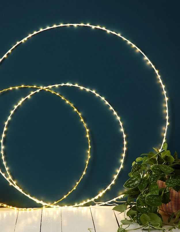 Cercle lumineux pour une décoration cocooning