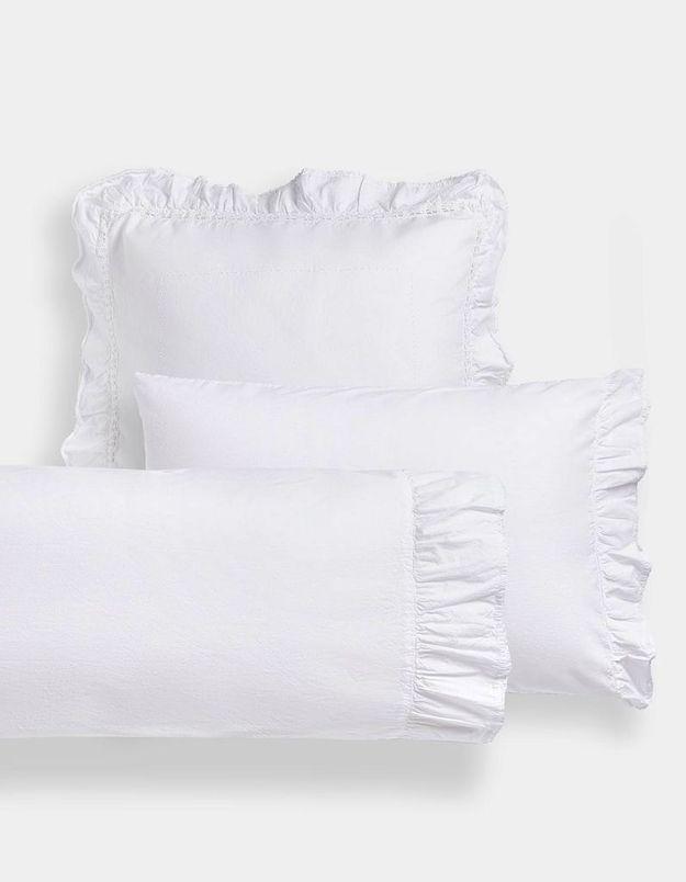 Taie d'oreiller délicate pour une déco cocooning