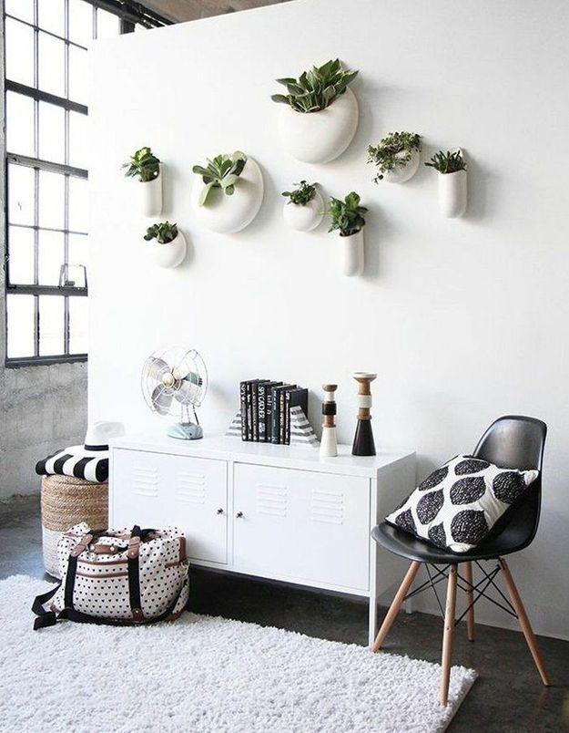 Végétaliser son intérieur sans perdre de place en adoptant les vases muraux