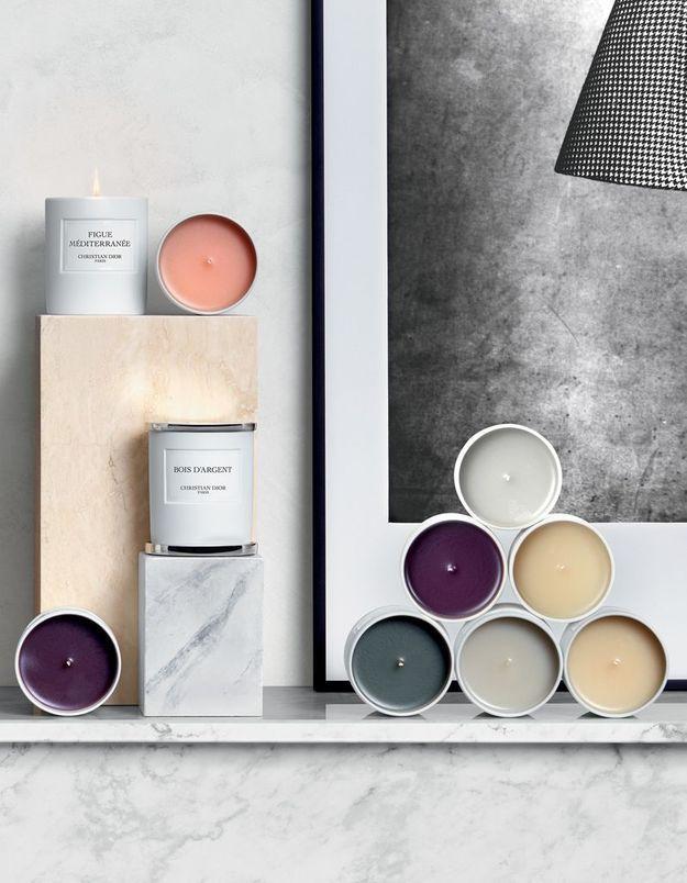 Une bougie pour l'hiver signée Maison Christian Dior