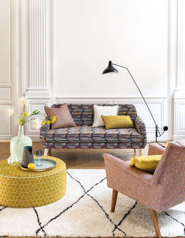 Des tissus tout doux pour une décoration cosy