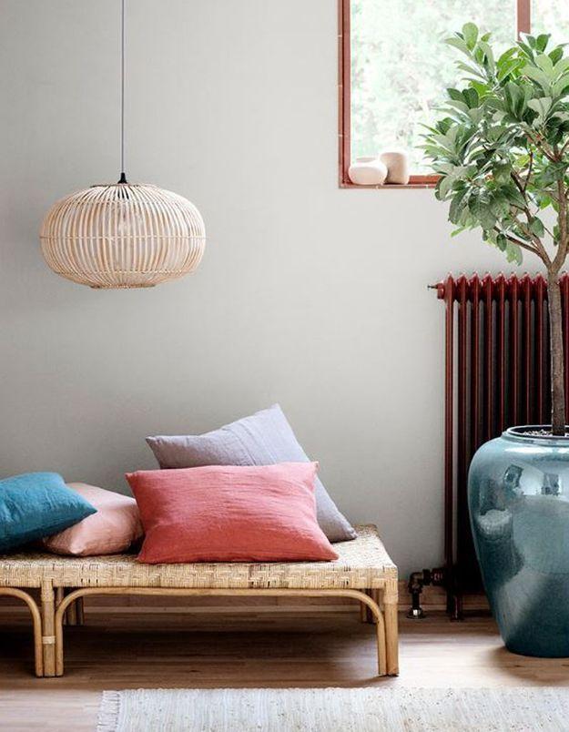 Une suspension basse à l'effet intimiste pour une décoration cosy