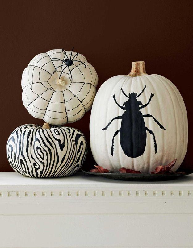 Citrouille à motifs pour Halloween