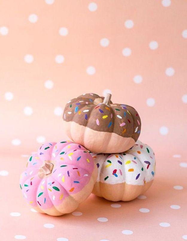 Citrouille comme un donut's pour Halloween