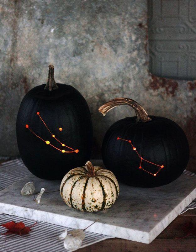 Citrouille cosmique pour Halloween