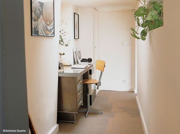 15 id es pour am nager son couloir elle d coration. Black Bedroom Furniture Sets. Home Design Ideas