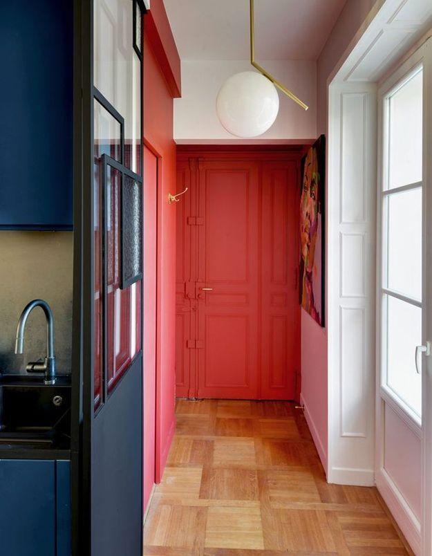 Délimiter l'espace couloir via une couleur pop
