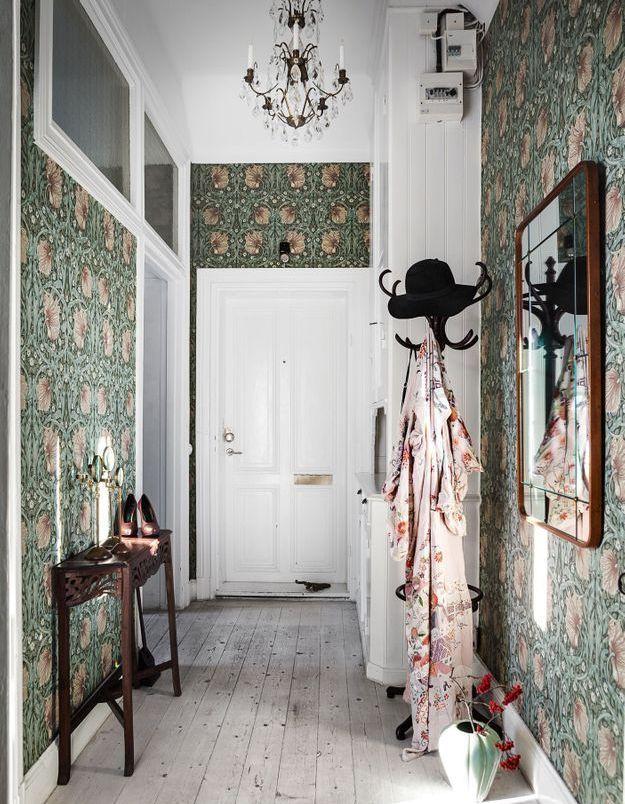Oser le style désuet dans le couloir