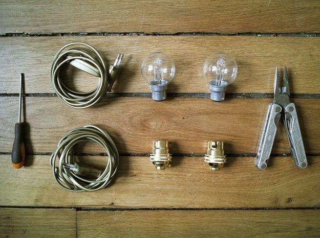 Le matériel pour la partie électrique