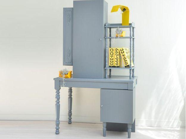 DIY : un rangement original avec des meubles récup'