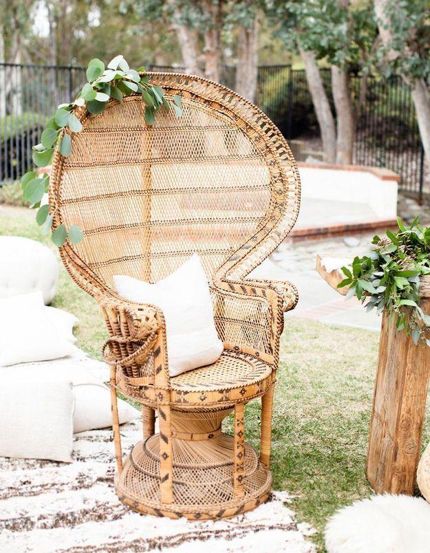 Un fauteuil Emmanuelle outdoor