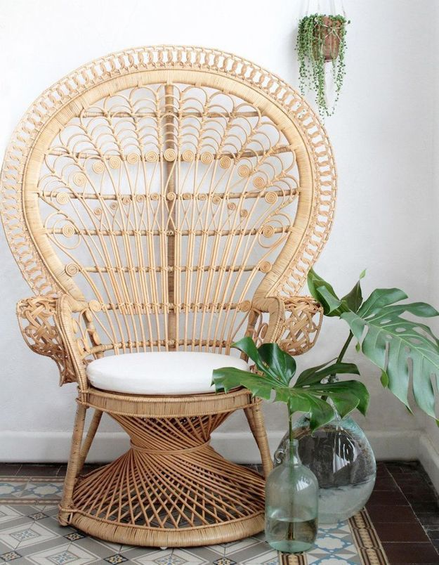 Un fauteuil Emmanuelle zen