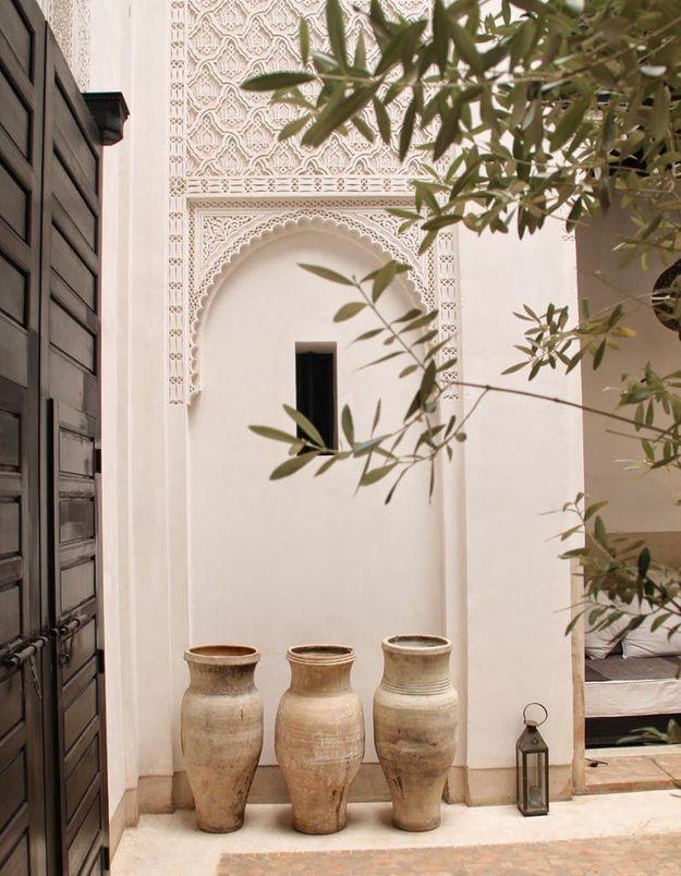 Craquer pour l'art du gebs marocain (sculpture sur plâtre)