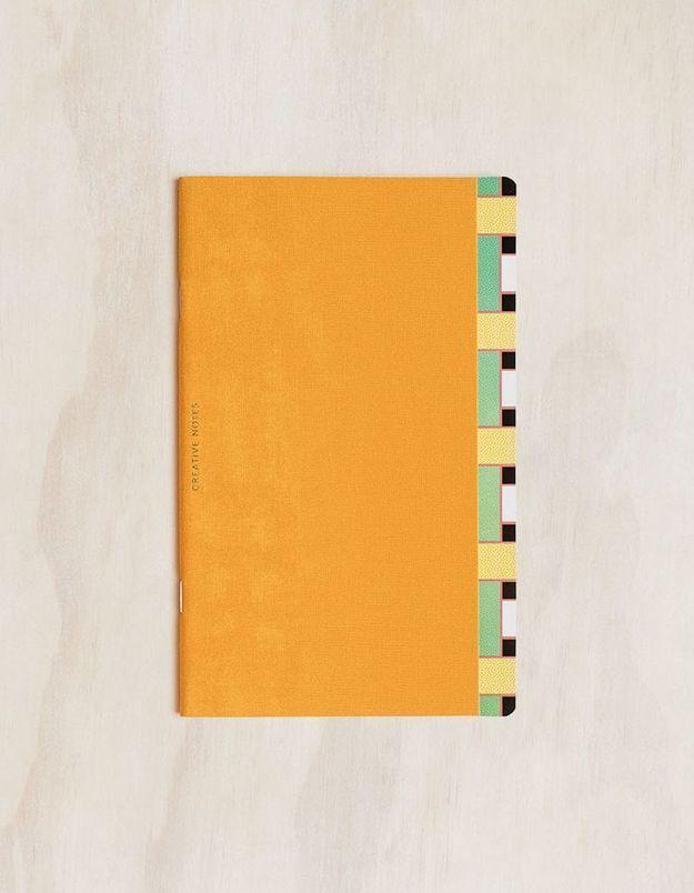 Cahier à motifs géométriques Octaevo