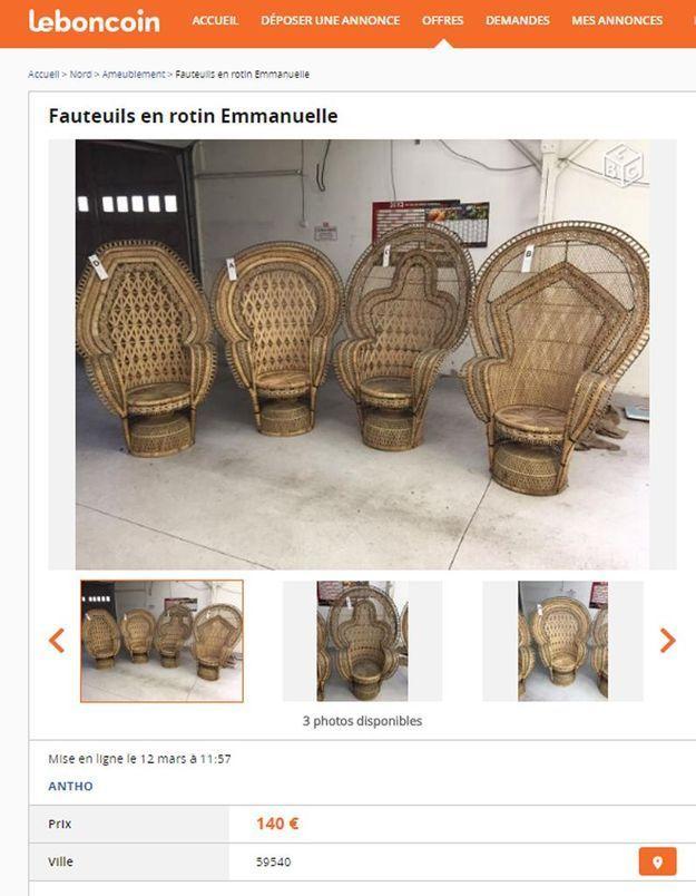 Des fauteuils Emmanuelle dans le Nord-Pas-de-Calais