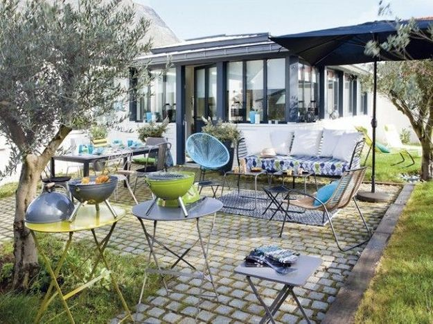 Les conseils déco d'Anne Gastineau pour ensoleiller sa terrasse