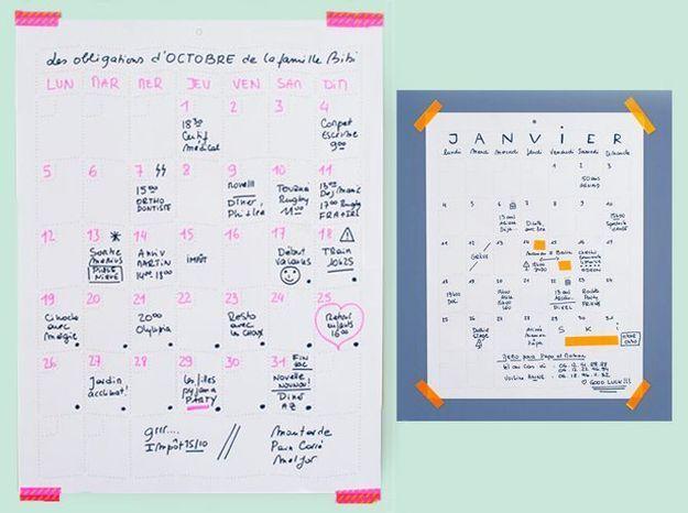 Objet déco du jour : le calendrier Ich&Kar