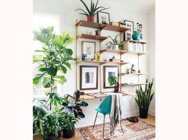 Fabriquez un bureau à partir d'un système d'étagères