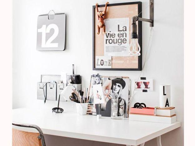 Multipliez les petits rangements sur votre bureau