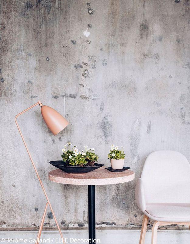 Bouquet de pâquerettes dans un décor design