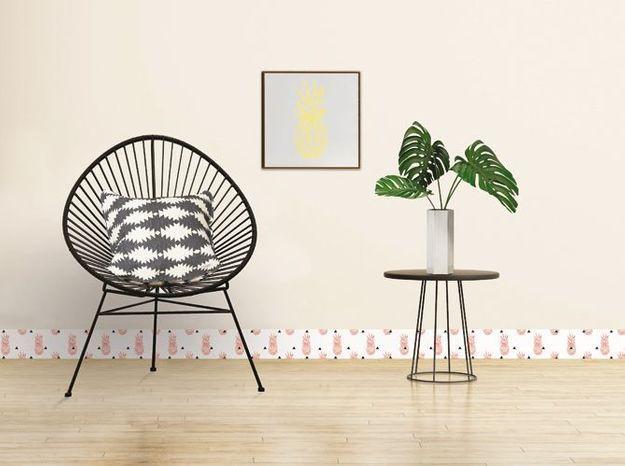 Plinthe Décorative PVC Imprimé Ananas