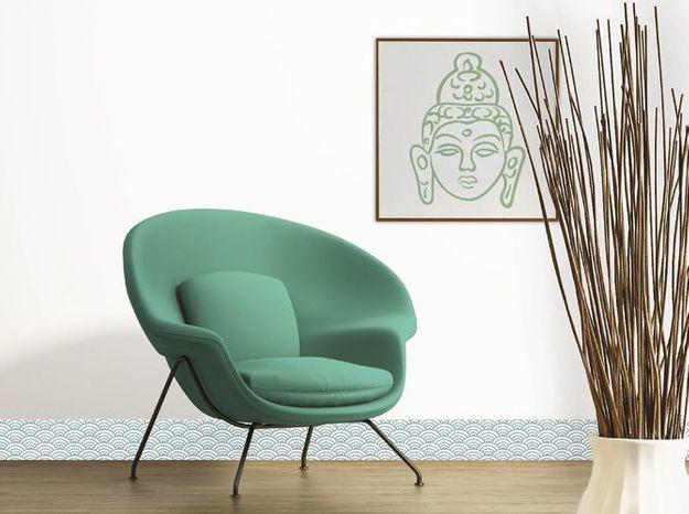 Plinthe Décorative PVC Style Graphique