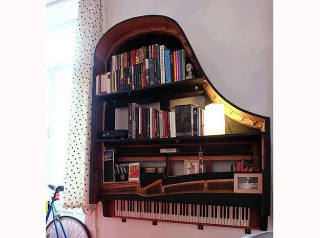 Tgm design piano etagere