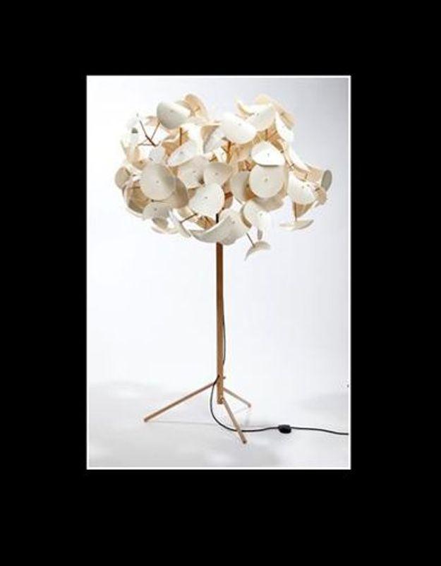 Lampe feuillage 1