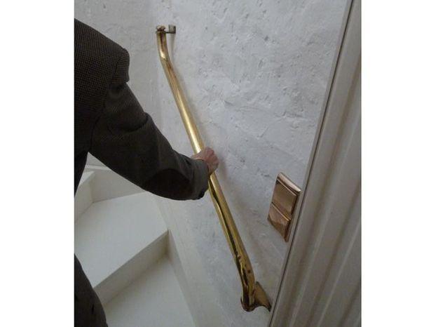 Maison cuivre rambarde escalier