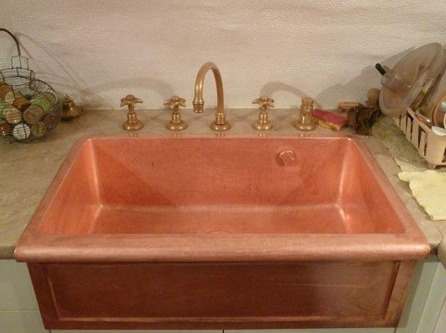Maison cuivre robinetterie