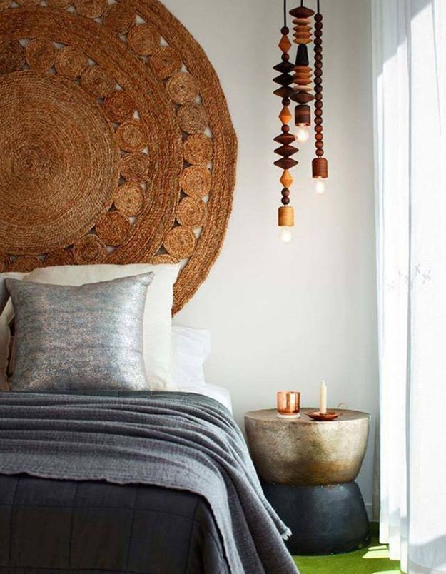 On décore son mur avec un tapis