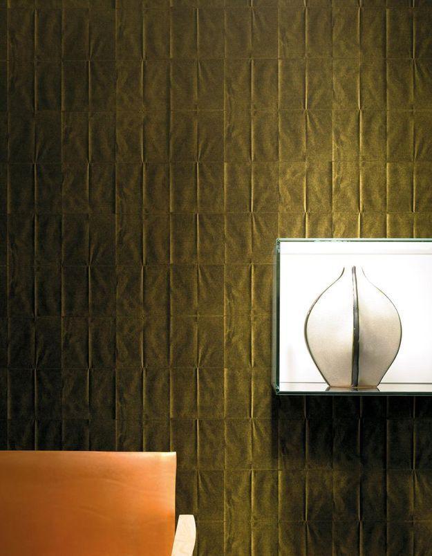 Papier peint Arts & Kraft, collection Pleats, Elitis