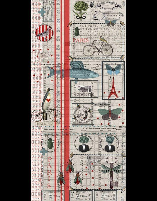 Papier peint Paris, Maison Caumont