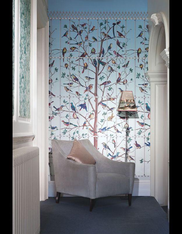 Papier peint Uccelli Fornasetti II, Cole & Son