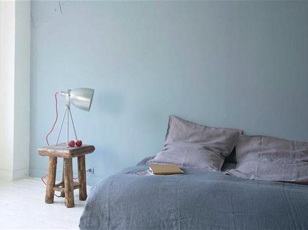 Une peinture gris bleuté pour la douceur
