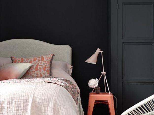 Une peinture noire pour plus d'intimité