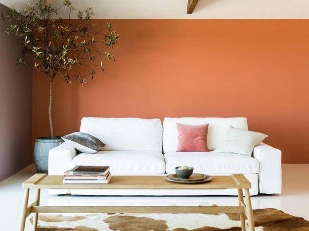 Une peinture orange pour réchauffer l'atmosphère