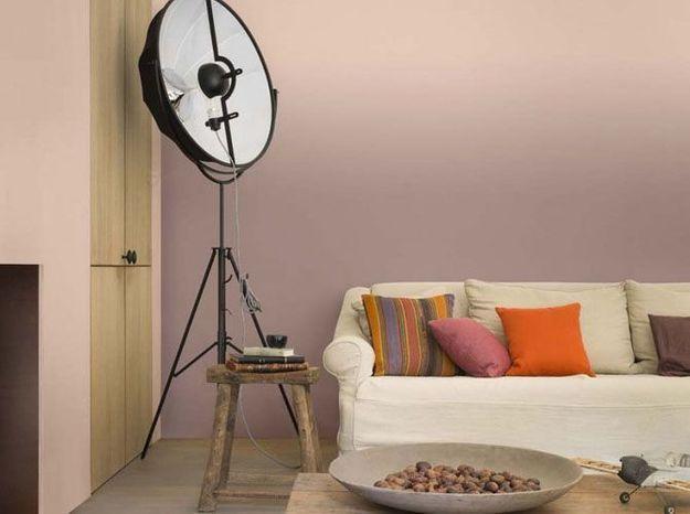 Une peinture sable rosé pour se relaxer