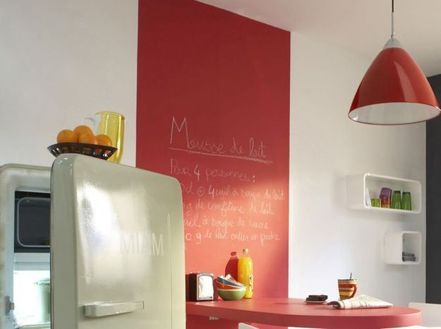 Les peintures effets d corent nos murs elle d coration - Peinture design sur mur ...