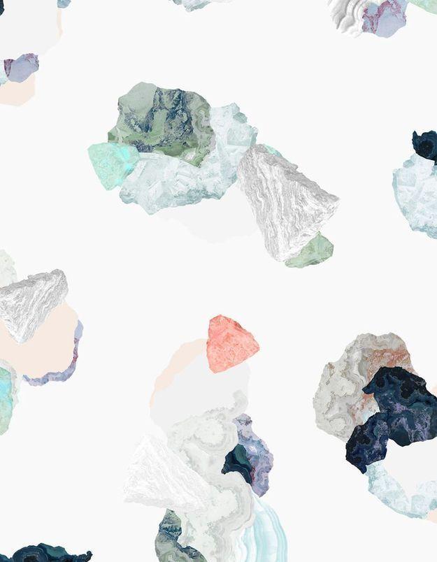 Papier peint tendance Petite Friture