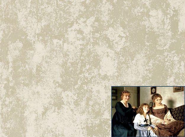 Un papier peint délicat comme dans Raison et Sentiments (1995)