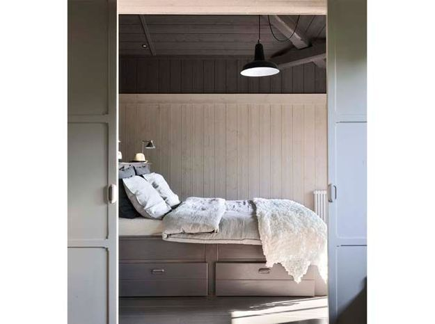 couleurs jouez sur les volumes de votre int rieur elle d coration. Black Bedroom Furniture Sets. Home Design Ideas
