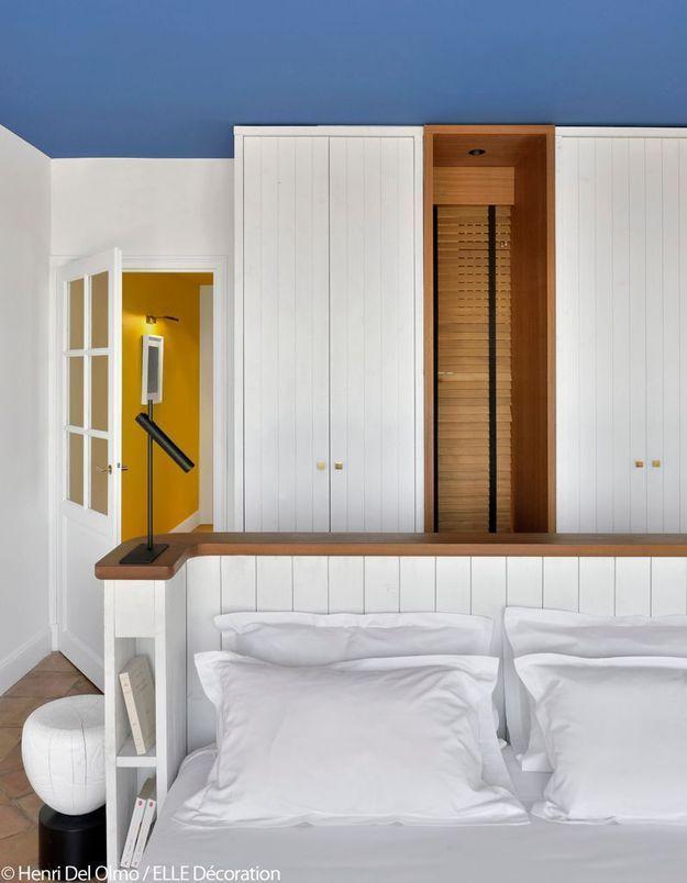Mariage n°1 : bleu et jaune par François Champsaur, architecte d'intérieur et designer